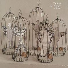 .wire cages.