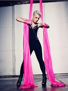I love P!nk. She is a strong woman and awesome artist. I can't wait for the new album!