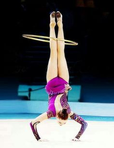 Alina Maksimenko (Ukraine), rhythmic gymnastics
