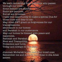 Jummah Mubarak Dua, Jummah Mubarak Messages, Jumma Mubarak Quotes, Muslim Quotes, Islamic Quotes, Juma Mubarak Pictures, Jumma Mubarik, Allah Names, Duaa Islam