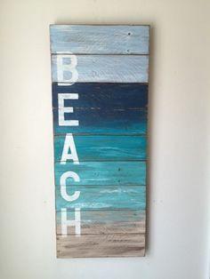 BEACH Coastal Decor by shoponelove on Etsy