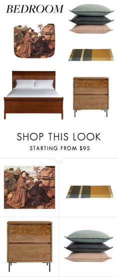 """""""bedroom"""" by manonth on Polyvore featuring interior, interiors, interior design, thuis, home decor, interior decorating, Jean-Paul Gaultier, Design Within Reach, Ethan Allen en bedroom"""