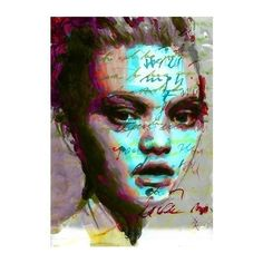 Items similar to Print Mixed Media Watercolor Acrylic Painting Poster Art face portrait fashion model on Etsy Art Works, Art Painting, Face Art, Mixing Prints, Poster Art Ideas, Painting, Art Model, Poster Art, Art