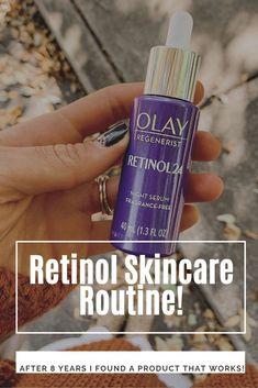 My Retinol Skincare Routine - Blush & Camo  retinol skincare | easy skincare routine | simple skincare routine