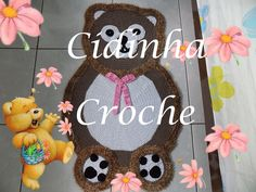 Croche- Tapete Ursinho- Passo A Passo- Parte 1/ 2