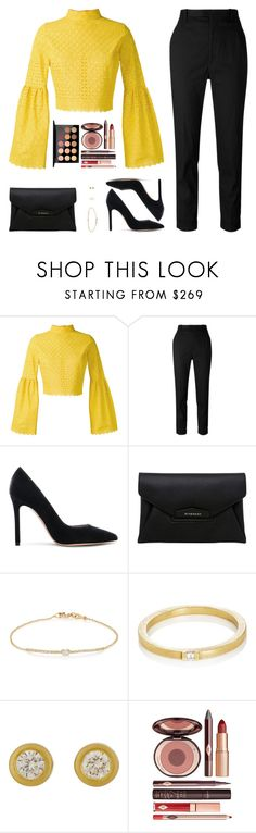 """""""Sin título #4533"""" by mdmsb ❤ liked on Polyvore featuring Daizy Shely, Étoile Isabel Marant, Gianvito Rossi, Givenchy, Tate, Charlotte Tilbury and MAC Cosmetics"""