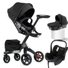 Buy DSLAND Baby Stroller 3 in 1luxury High Land Scape Sitting Pram Buggy Bassinet for Newborn Carriage Car Walkers at www.babyliscious.com! Free shipping to 185 countries. 21 days money back guarantee. Changing Bag, Buggy, Travel System, Baby Carriage, Videos Online, Prams, Kids Bags, Toddler Girl Dresses, Cute Baby Clothes