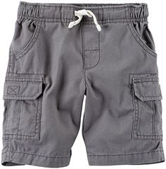 (My review of Carter's Baby Boys' Cargo Shorts) -  Carter's Cargo Shorts – Gray Carters is the leading brand of children's clothing, gifts and accessories in America, selling more than 10 products for every child born in the U.S. Our designs are based on a heritage of quality and innovation that has earned us the trust of...
