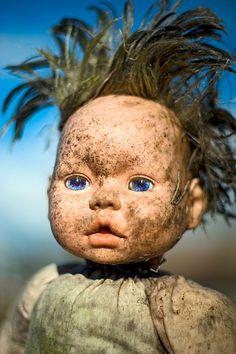 Filthy Doll Head
