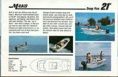 ClassicMako Owners Club, Inc. - A bit of Mako History