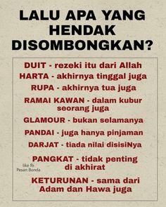 10 Best Tazkirah Images Kata Kata Hikmah Allah Geografi
