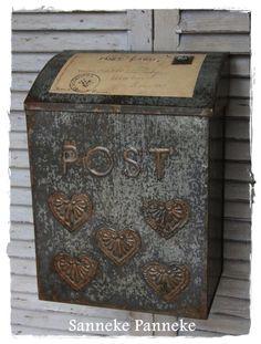 Postbak van Zink