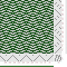 Hand Weaving Draft: Page 92, Figure 15, Textile Design and Color, William Watson, Longmans, Green & Co., 6S, 6T - Handweaving.net Hand Weaving and Draft Archive