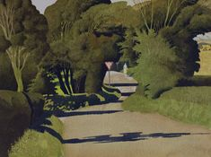 The Woman Who Would Not Give Way, 1990 by Simon Palmer on Curiator, the world's biggest collaborative art collection. Landscaping Near Me, Landscaping Company, Modern Landscaping, Landscape Artwork, Landscape Illustration, Leave Art, Uk Landscapes, Collaborative Art, Art Images