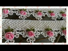Crochet Lace Edging, Crochet Flower Tutorial, Crochet Borders, Crochet Mandala, Crochet Flower Patterns, Lace Patterns, Crochet Designs, Crochet Doilies, Crochet Flowers