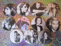 "River Phoenix 2-1/4"" Magnets by GalaxyGirlPins on Etsy https://www.etsy.com/ca/listing/248204180/river-phoenix-2-14-magnets"