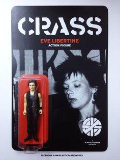 Eve Libertine custom action figure CRASS