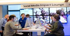 Hearing Innovation Expo Social Media Impact Lounge