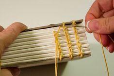 using the copic stitch by Lisa Scott Homemade Books, Bookbinding Tutorial, Lisa Scott, Handmade Journals, Handmade Notebook, Handmade Bags, Handmade Bracelets, Book Journal, Art Journals