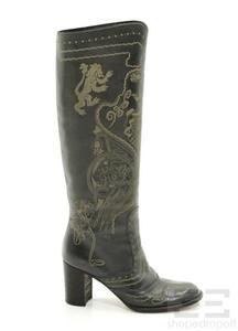 Anna Sui for Anthropologie. Coolest boots ever.