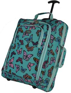 Carry On Board Cabin Bag. Cabin Bag, Toiletry Bag, Vera Bradley Backpack, Mint, Butterfly, Cases, Travel, Cosmetic Bag, Viajes