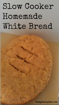 Baking Homemade Bread in a Crock Pot --- I totally went there!