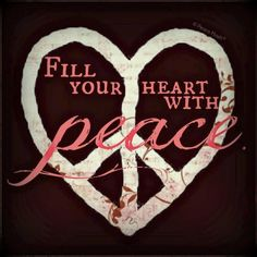 "Fill your heart with peace. ""Peace be with you. My peace I leave you. Be not afraid. Paz Hippie, Hippie Peace, Hippie Love, Hippie Chick, Hippie Style, Hippie Vibes, Happy Hippie, Peace Love Happiness, Peace And Love"