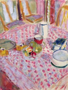 Apres le Dejeuner - Pierre Bonnard After Breakfast - Pierre Bonnard