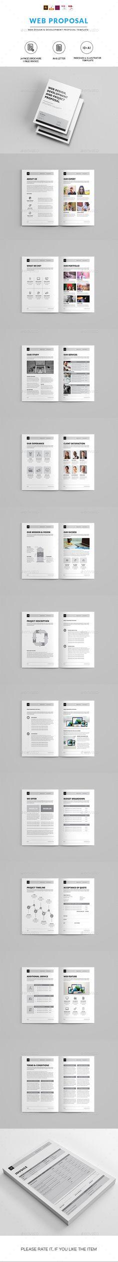 Web Design Proposal Web design, Proposals and Proposal templates - website proposal template