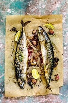 Sardine Recipes, Fish Recipes, Seafood Recipes, Gourmet Recipes, Cooking Recipes, Food Photography Styling, Food Styling, Mackerel Recipes, Gastronomia