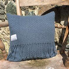 Welsh wool waffle cushion #adra #adrahome #welsh #wool #waffle #cushion #homeware