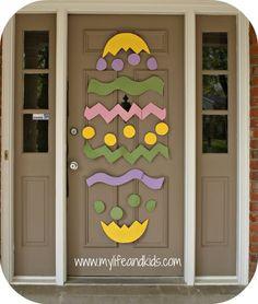 Easter Bunny Door | Easter bunny, Easter and Bunny