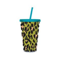 "2AC0095 Color: Green Features: -Cold liquids only.-Reusable and dishwasher safe.-BPA free.-Season: Everyday.-Eco-friendly alternative to paper or styrofoam.-Capacity: 17 oz.. Includes: -Straw included. Dimensions: -6.3"" H x 4"" W x 4"" D, 0.46 lb."