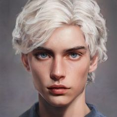Digital Art Girl, Digital Portrait, Portrait Art, Portrait Photography, Boy Face, Male Face, Character Portraits, Character Art, Donia