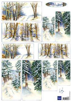 It580 Tiny's winter - Tiny Harts - Knipvellen - Hobbynu.nl