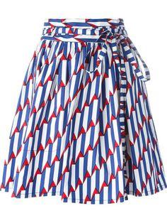 MARC JACOBS 'Arrow Head' Wrap Skirt. #marcjacobs #cloth #skirt