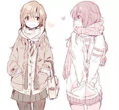 Manga Drawing desenho do anime - 55 bonita Anime Desenhos Manga Girl, Anime Girls, Manga Anime, Yuri Anime, Anime Kawaii, Wie Zeichnet Man Manga, Anime People, Manga Characters, Anime Artwork