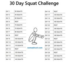 I got to day 17.. My legs were BURNING! Going to start over and try to finish!!