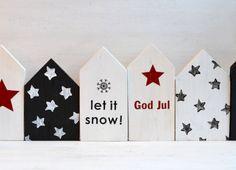 die ja-sagerin - DIY, Food, Lifestyle, Travel & Memory Books: DIY // dreierlei weihnachtliche deko-holzhäuser