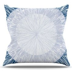 East Urban Home Pulp by Anchobee Outdoor Throw Pillow
