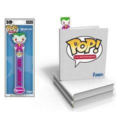 POP DC Comics Joker 3D Bookmark @ niftywarehouse.com #NiftyWarehouse #Batman #DC #Comics #ComicBooks