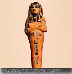 """1336-1327 900h PHARAOHS OF EGYPT – Shabti collection found in the Tomb of TUTANKHAMUN. Egyptian Museum, Cairo ©Hans Ollermann 2004-2016."" ^**^"