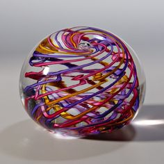 Handmade Glass Paperweight by kaekomaehata on Etsy, $45.00