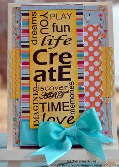 """""""Life"""" card by Katrina Hunt"""