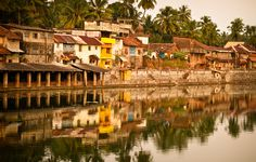This is the temple town of Gokarna.