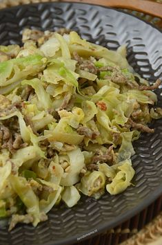 Orak arik - de Indomama Pasta Salad With Spinach, Tuna Salad Pasta, Easy Salad Recipes, Chicken Salad Recipes, Healthy Recipes, Crispy Sweet Potato, Salad With Sweet Potato, Marinated Grilled Vegetables, Caramelized Onions And Mushrooms