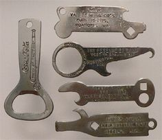 Just For Openers from 1892 to the Present - A short history of bottle openers