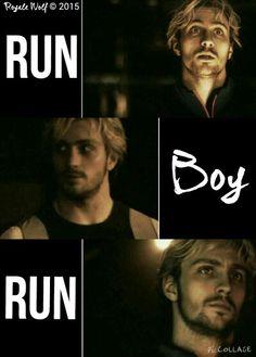 Run Boy Run | Pietro Maximoff edit by Royale Wolf © 2015