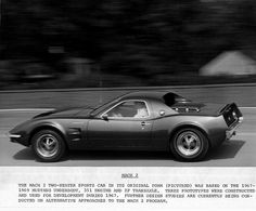 Mach 2… Ford prototype press release