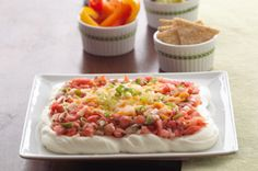 PHILLY Cheesy Salsa Dip